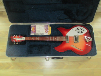 En Fuego 2001 '01 Rickenbacker 330 Six String. FIREGLO finish!!!