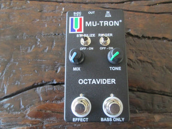 Mu-Tron Octavider. Limited Edition Black. Brand new, never used, never opened, pristine.