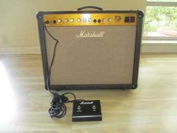 Vintage Marshall UK-made JTM30 All Tube 30-watt 112 amp; upgraded Celsestion Greenback G12M speaker