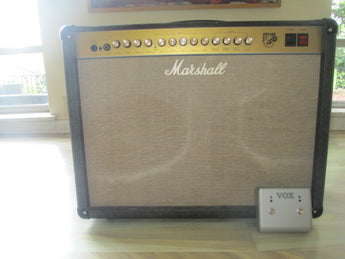Beastly Vintage UK-made Marshall JTM60 212 tube amp. Too beastly for me!