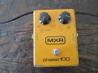 Vintage 1977 '77 MXR Phase 100. Block Logo. Buttery shimmery tone.