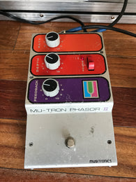 1970s '70s Mu-Tron Mutron Musitronics Phasor II. Vintage. Good Condition