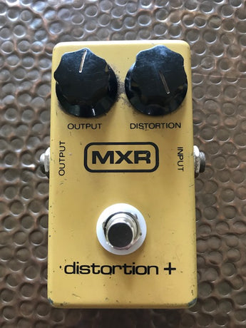 1980 '80 Vintage MXR Distortion Plus Pedal True Bypass with 9V adapter