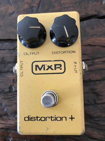 1979 '79 Vintage MXR Distortion Plus + Block Logo