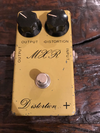 1975 '75 MXR Distortion Plus + Script Logo Vintage Pedal. The real deal.