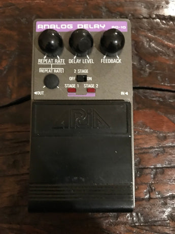 Early '80s 1980s Rare Aria AD-10 AD10 Analog Delay. Made in Japan.