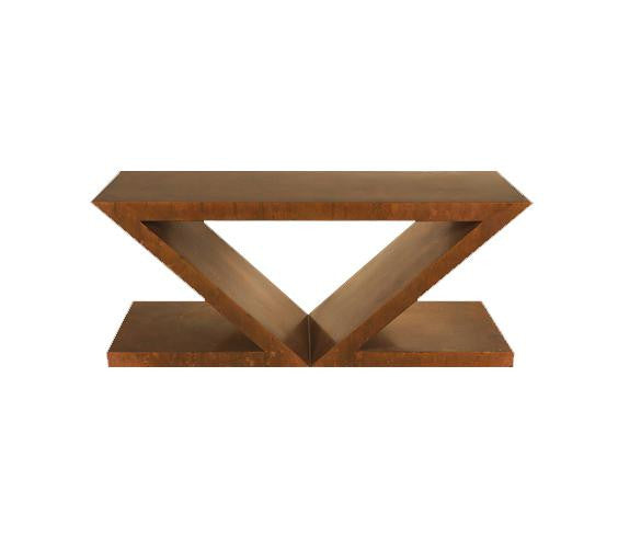 Double Z Dining Table Base
