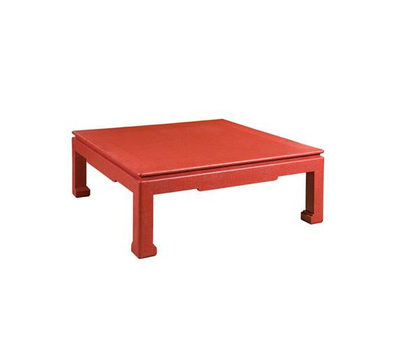 Canton Coffee Table Red