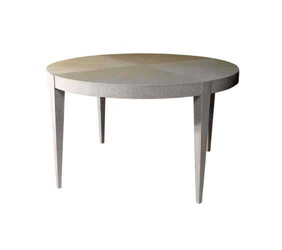 Tapered Leg Round Dining Table