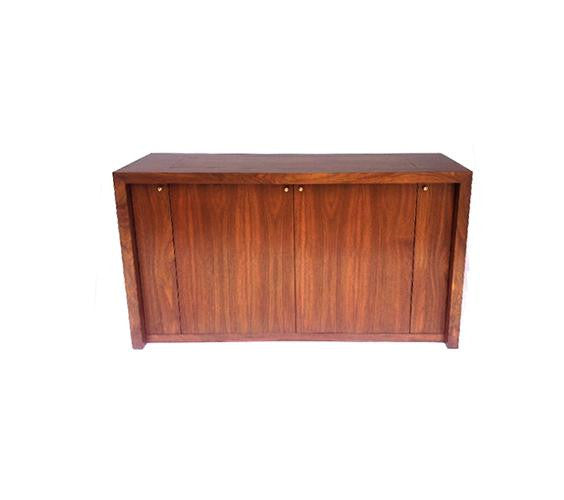 Parsons Panel Mid Century Styled TV Lift Cabinet
