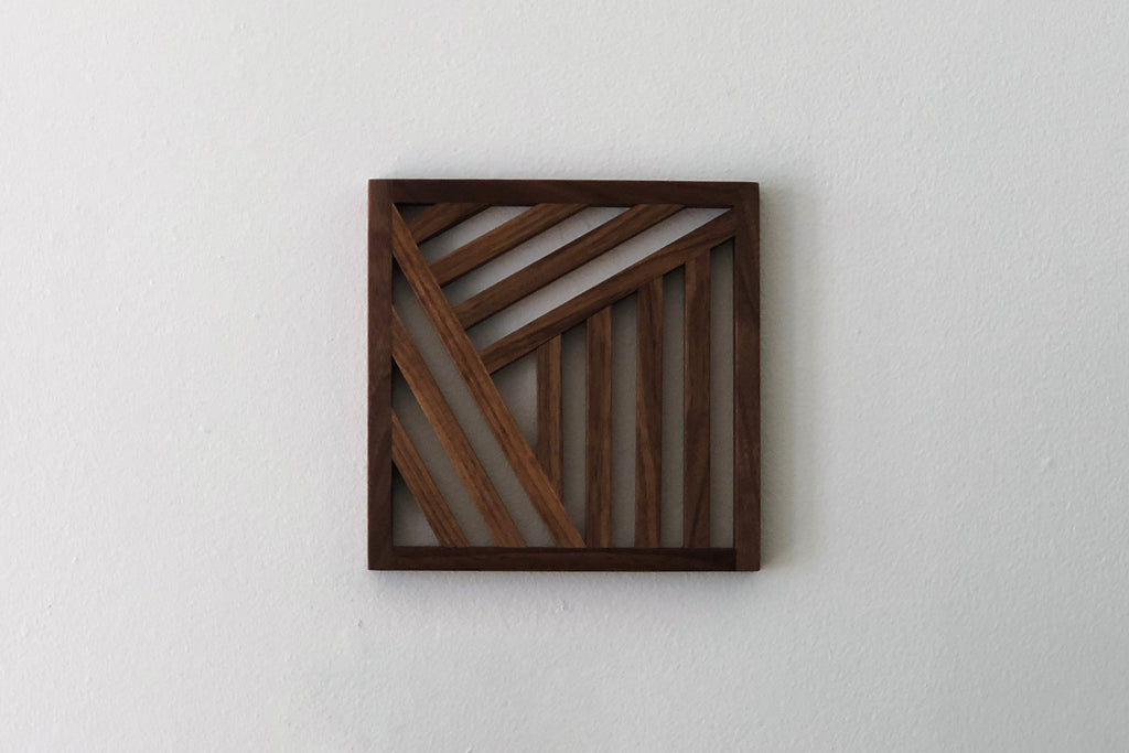 Walnut Trivet, No. 2