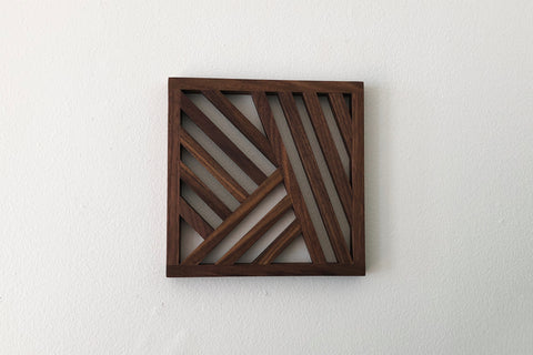 Walnut Trivet, No. 3