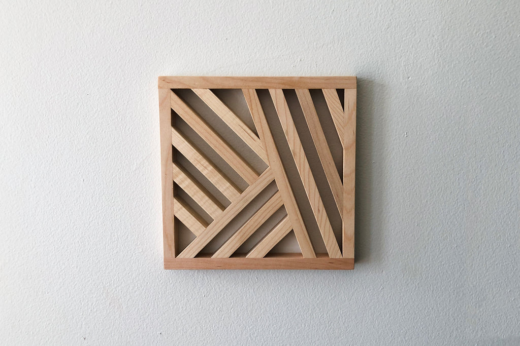 Maple Trivet, No. 3