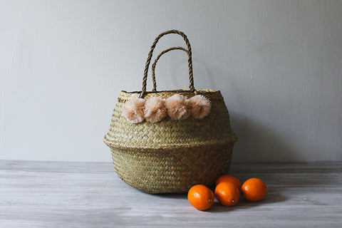 Blush Basket, Medium