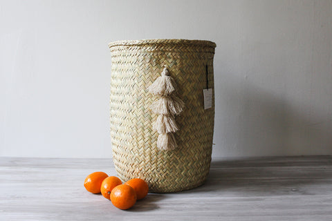 Gran Hierba Basket with Tassel