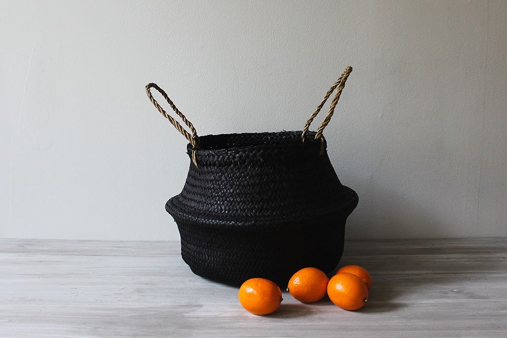 Noir Basket, Medium