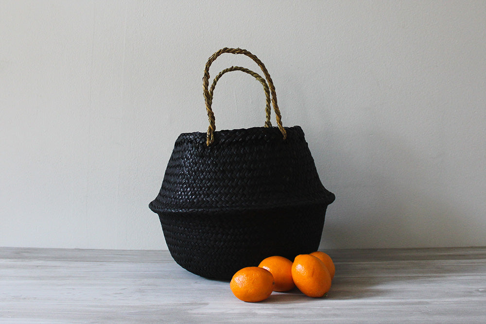 Noir Basket, Small