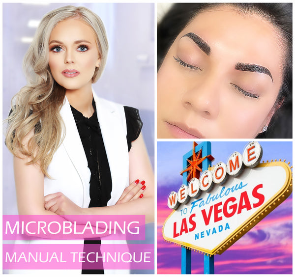MICROBLADING MANUAL TECHNIQUE GROUP TRAINING - Mallyna® Lash & Brow