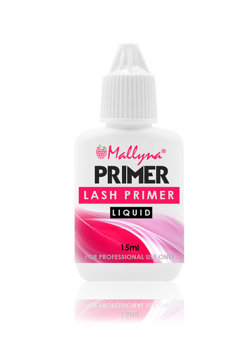 PRIMER FOR EYELASH EXTENSIONS (LIQUID) 15ML - Mallyna® Lash & Brow