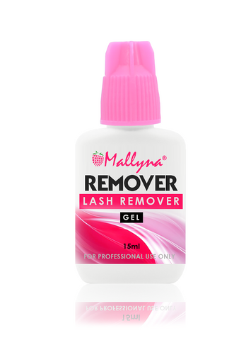 EYELASH EXTENSIONS GLUE REMOVER (GEL) 15ML - Mallyna® Lash & Brow