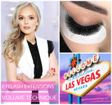 VOLUME MASTER CLASS GROUP TRAINING - FULL 2 DAY PROGRAM - Mallyna® Lash & Brow