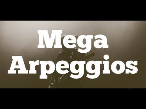 Mega Arpeggios | Angular Playing Techniques