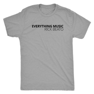 Rick Beato - 'EVERYTHING MUSIC' Heather T-Shirt