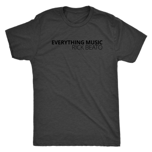 Rick Beato - 'EVERYTHING MUSIC' Black T-Shirt