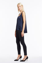 B003 Makena Silk Tank Top - Side
