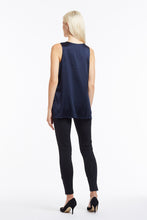 B003 Makena Silk Tank Top - Back