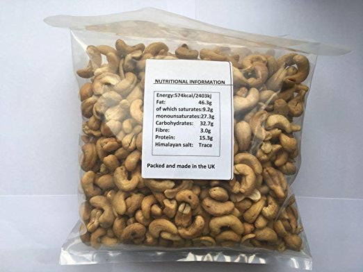 Soaked & Dehydrated Cashews 1kg