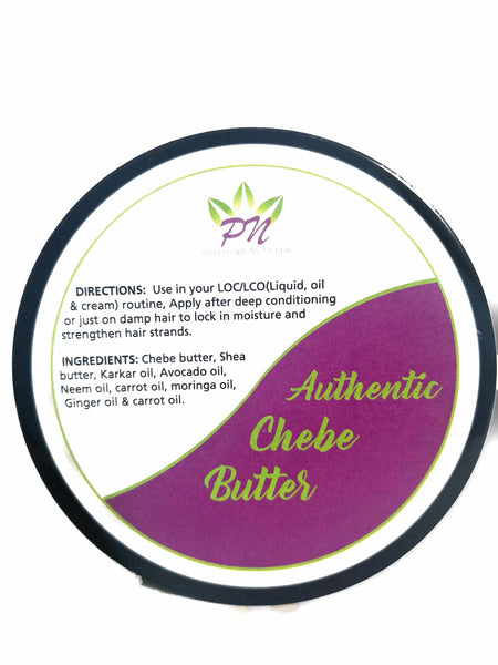Chebe Butter 200ml : Traditionally Made with 100% Raw Shea Butter & Natural Oils with Chebe Powder