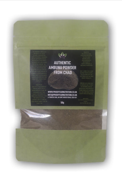 Ambunu powder ( Ceratotheca Sesamoide) 50g from chad Premium Quality