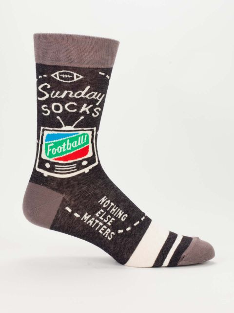 Sunday, M-Crew Socks