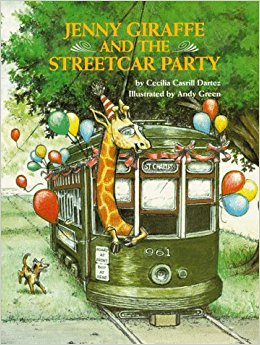 Jenny Giraffe and the Streetcar Party (Jenny Giraffe Series)