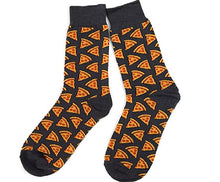 Mens Crew, Pizza Socks by Parquet