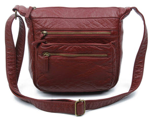 The Elsa Crossbody-Burgundy-Ampere Creations