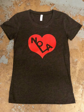NOLA Heart , Womens Shirt