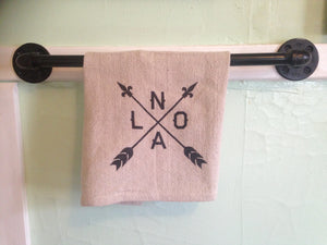 NOLA Arrow, Dish Towel