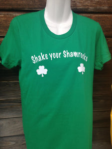 Shake Your Shamrocks, Unisex Adult Shirt