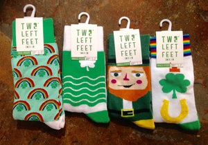 St. Pattys Day Socks, by Two Left Feet