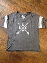 NOLA Arrows, Powder Puff Eco-Jersey T-Shirt, Unisex
