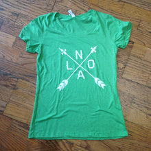 NOLA Arrow, Women's Track T-Shirt