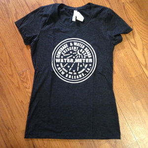 NOLA Water Meter, Women's Track Shirt
