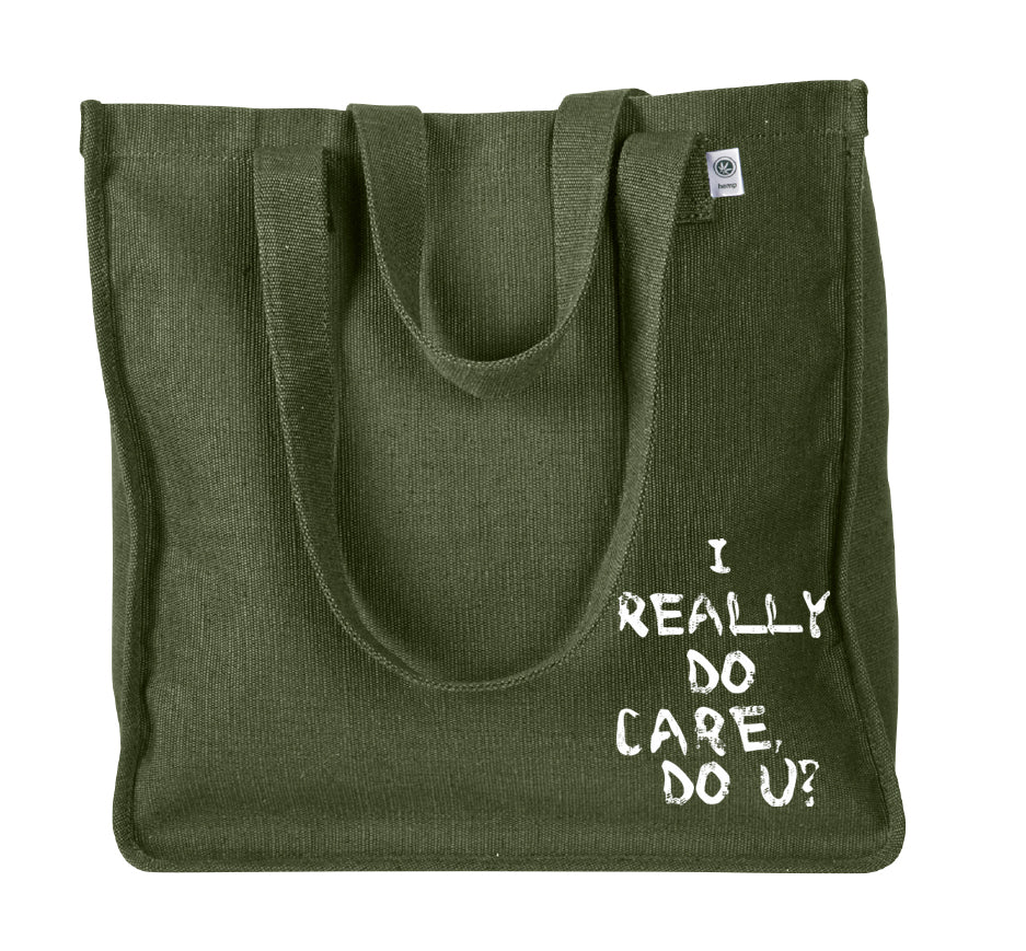I Really Do Care, Do You? Tote Bag