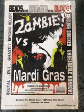 Zombie Vs. Mardi Gras Movie Poster