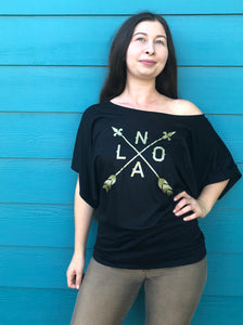 NOLA ARROW, Dolman Shirt