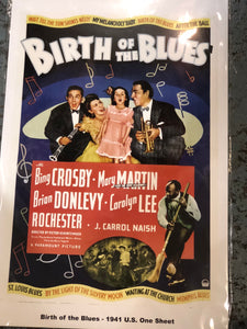 Birth of the Blues Movie Poster