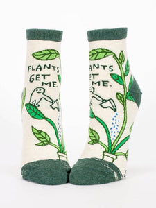 Plants Get Me,  W-Ankle Socks