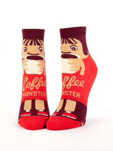 Coffee Monster, Ankle Socks